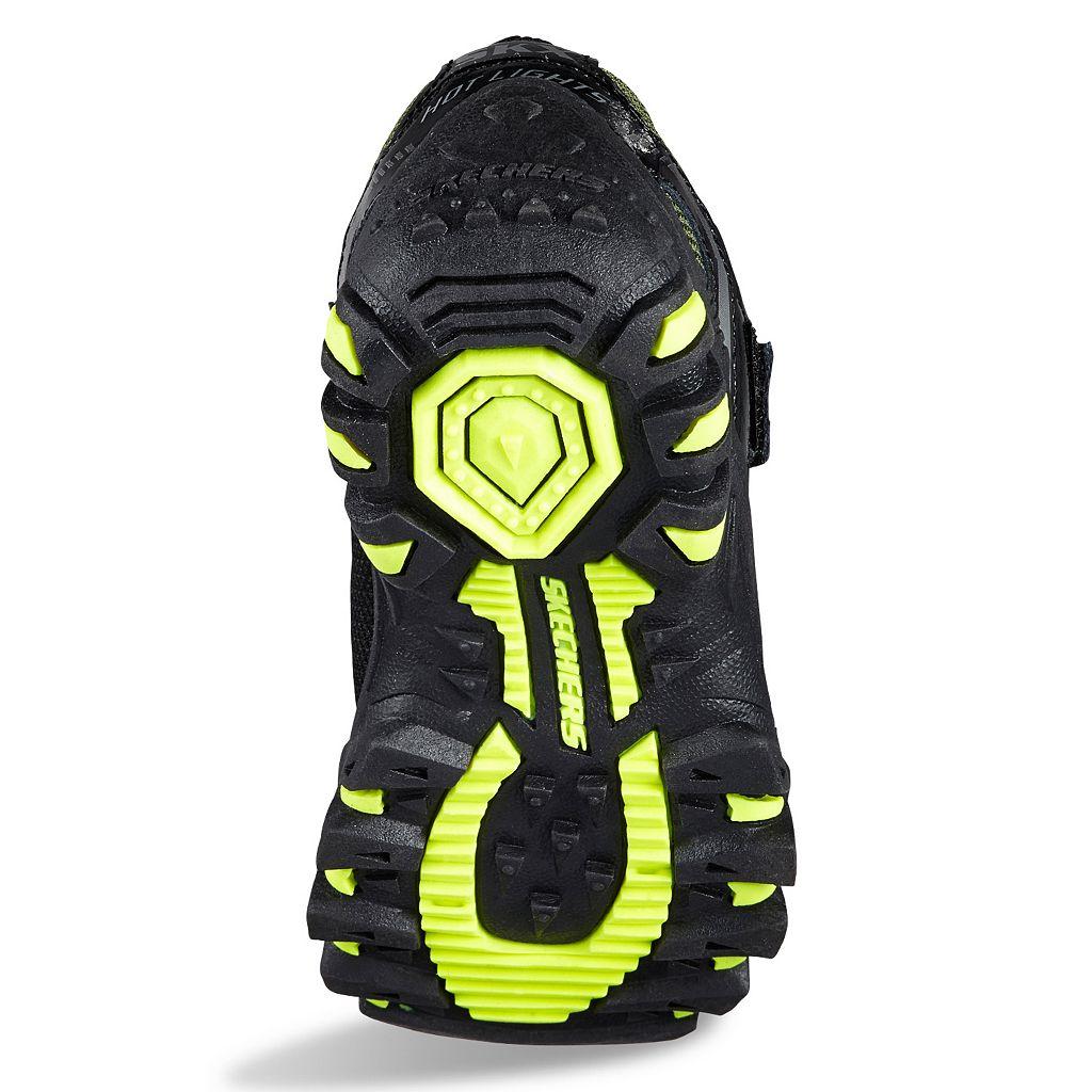 Skechers Hot Lights Adventurer Boys' Light-Up Trail Running Shoes