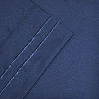 Embroidered Microfiber Solid Sheets