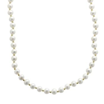 PearLustre by Imperial Freshwater Cultured Pearl 10k Gold Necklace