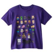 Minecraft Sprites Tee - Boys 8-20