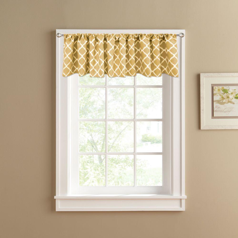 Misha Straight Window Valance 60 X 14