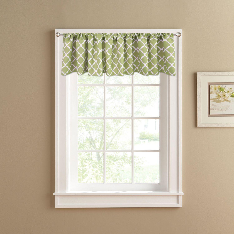 Ordinaire Colordrift Misha Straight Window Valance   60u0027u0027 X 14u0027u0027
