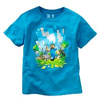 Boys 8-20 Minecraft Adventure Tee by JINX