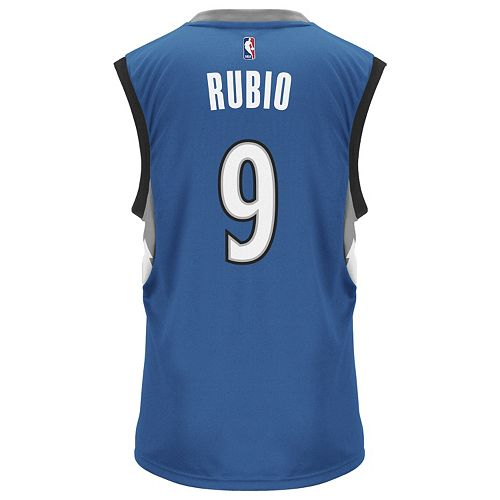 pretty nice e3966 5812a Men's adidas Minnesota Timberwolves Ricky Rubio Replica ...