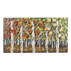 Sterling ''Autumn Birch'' Metal Wall Decor