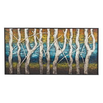 Sterling ''Queen Lake'' Metal Wall Decor