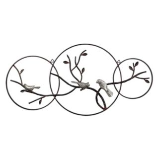 Sterling ''Birds on a Branch'' Metal Wall Decor