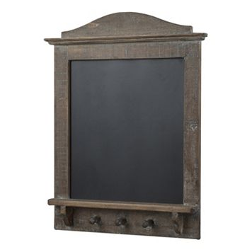 Sterling 3-Hook Chalkboard Wall Decor