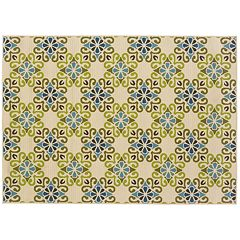 StyleHaven Cayman Floral Lattice Indoor Outdoor Rug