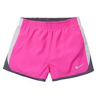 Toddler Girl Nike Dri-FIT Colorblock Running Shorts