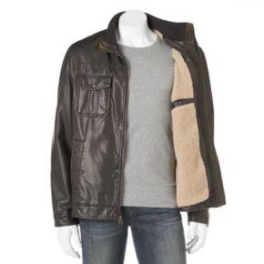 Men's Levi's® Sherpa-Lined Open-Bottom Jacket