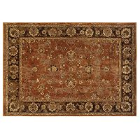 Oriental Weavers Casablanca Burnt Orange Framed Rug