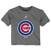 Baby Majestic Chicago Cubs Primary Logo Tee