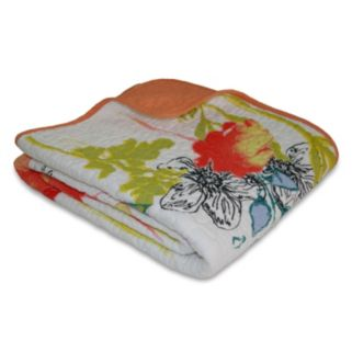 Watercolor Dream Quilted Reversible Throw