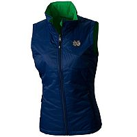 Women's Columbia Notre Dame Fighting Irish Reversible Powder Puff Vest