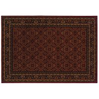 Oriental Weavers Cambridge Framed Lattice Rug