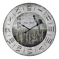 Sterling New York Wall Clock