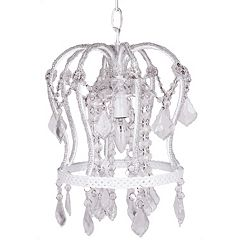 Tadpoles 1-Bulb Crown Chandelier