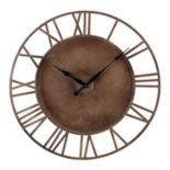 Sterling Outdoor Wall Clock