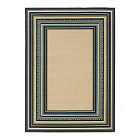 StyleHaven Cayman Framed Indoor Outdoor Rug