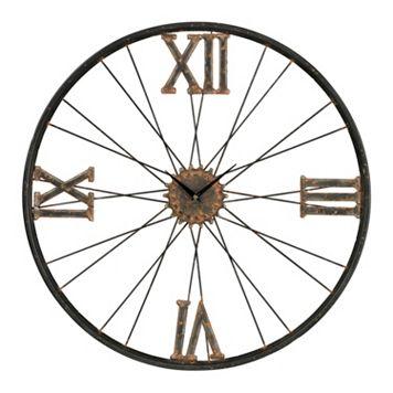 Sterling Industrial Wall Clock