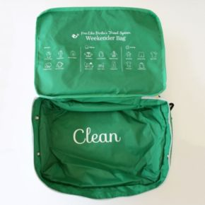 "Free Like Birdie ""Clean"" & ""Dirty"" Quick Change Weekender Baby Bag"