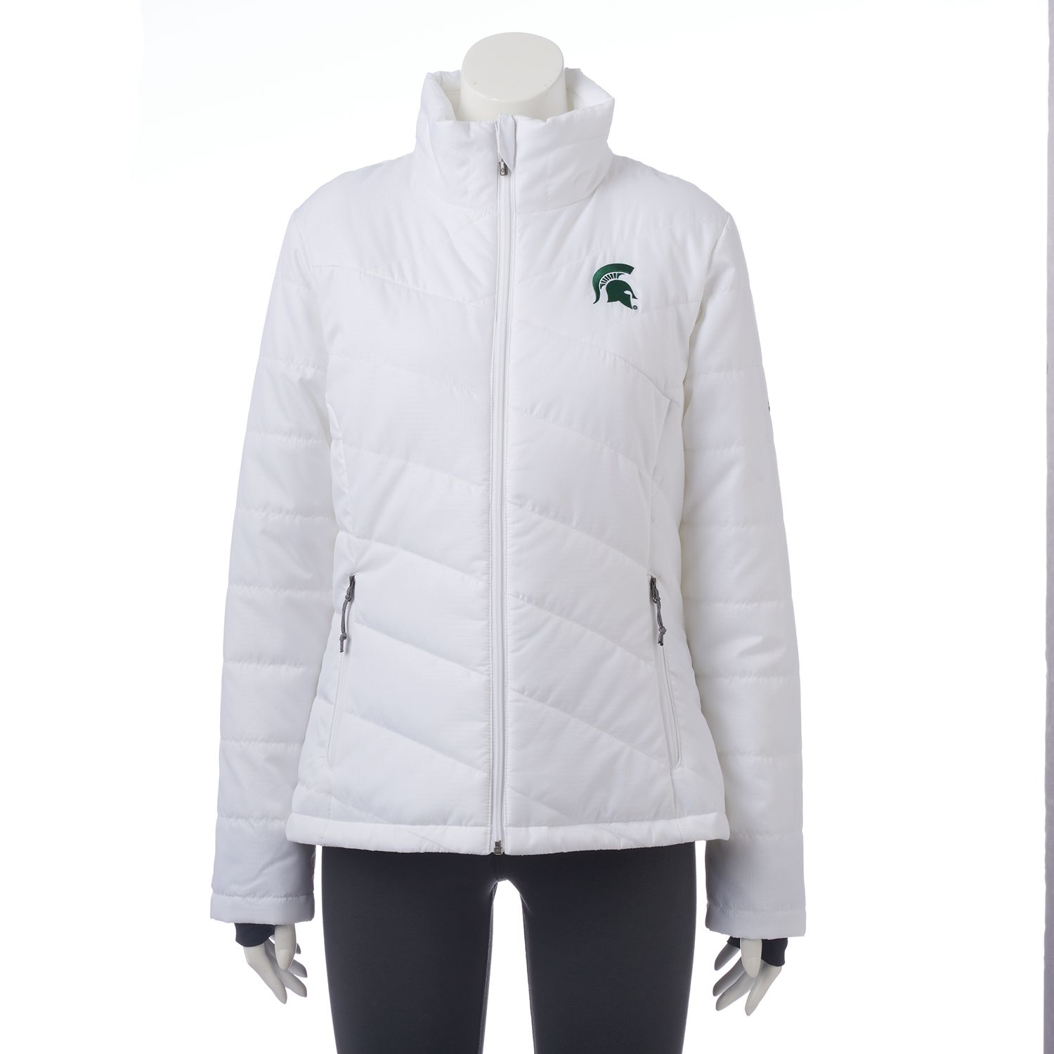 Womens Columbia Michigan State Spartans Powder Puff Jacket