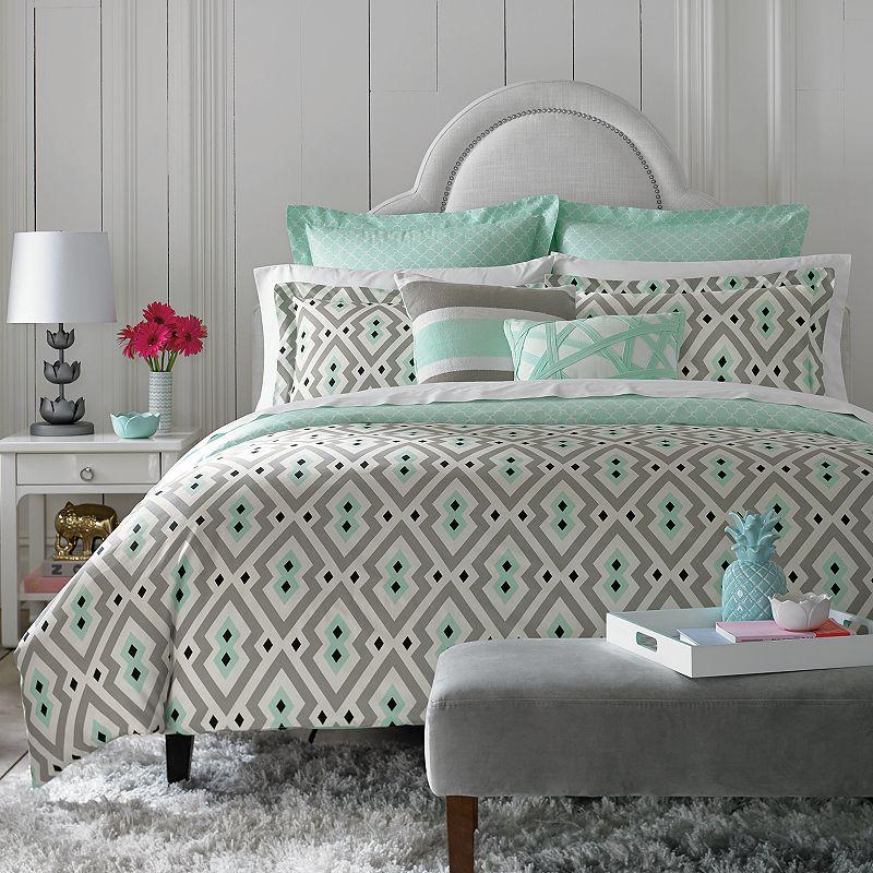 chic diamond quilt kohl 39 s. Black Bedroom Furniture Sets. Home Design Ideas