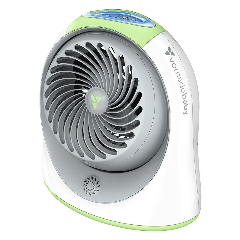 Vornado Baby Breesi LS Nursery Air Circulator with Light + Sound Machine, White With its powerful vortex air circulation, this Vornado Breesi nursery air circulator gives you more control over your baby's nursery environment.Watch the product video here. Circulates all the air around baby 13.5 times per hour using Vornado�s signature Vortex action. Three speed settings allow for perfect positioning. Curiosity-proof locking controls keep baby safe. White noise feature with volume control lends convenience. Night glow light with five-stage brightness control helps baby feel secure. Covered cord storage concealed in base for organization. Removable grill makes cleaning easy. PRODUCT CARE Manufacturer's 5-year limited warrantyFor warranty information please click here Wipe clean 12.5''H x 7.2''W x 11.9''D Weight: 6 lbs. Model no. CR1-0229-56 Size: One Size. Gender: unisex. Age Group: kids.