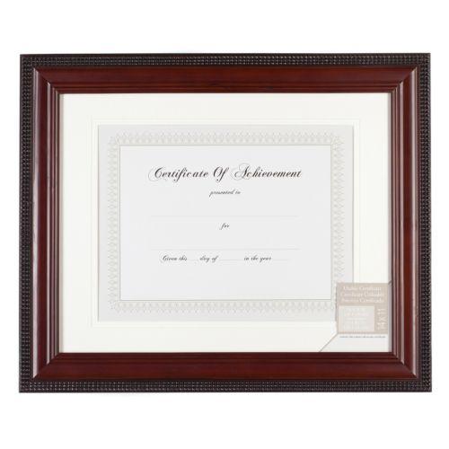 Beaded 8.5″ x 11″ Certificate Frame