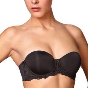 Montelle Intimates Bra: Convertible Strapless Full-Figure Push-Up Bra 9019