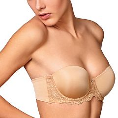 Montelle Intimates Bra: Convertible Strapless Full-Figure Push-Up Bra 9019