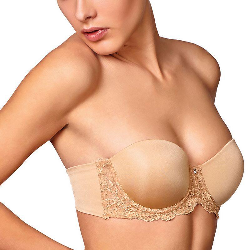 Montelle Intimates Bra: Convertible Strapless Full-Figure Push-Up Bra 9019 - Women's