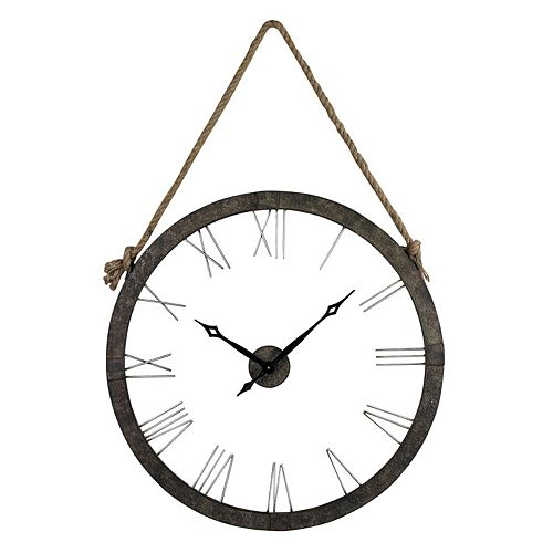 Sterling Wall Clock