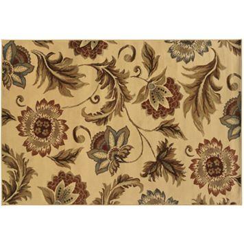 StyleHaven Dover Beige Floral Rug