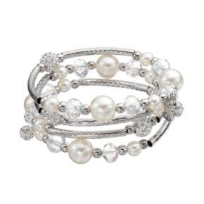Bead Coil Bracelet