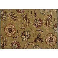 StyleHaven Dover Tan Floral Rug