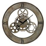 Sterling Cog Wall Clock