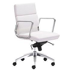 Zuo Modern Engineer Desk Chair