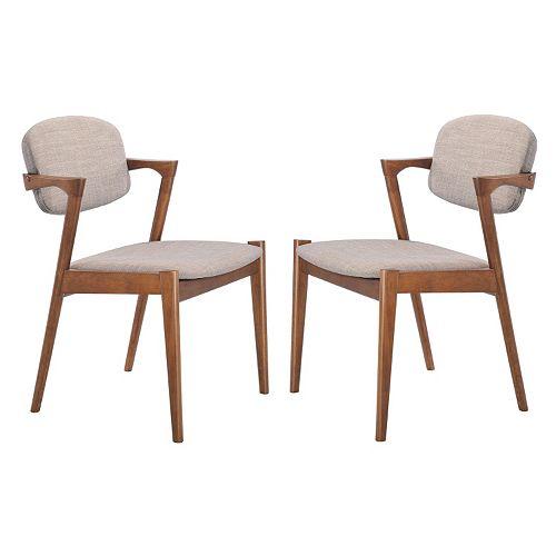 Magnificent Zuo Modern 2 Piece Brickell Dining Chair Set Dailytribune Chair Design For Home Dailytribuneorg