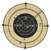 Sterling Target Practice Wall Clock