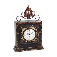 Sterling Finial Clock