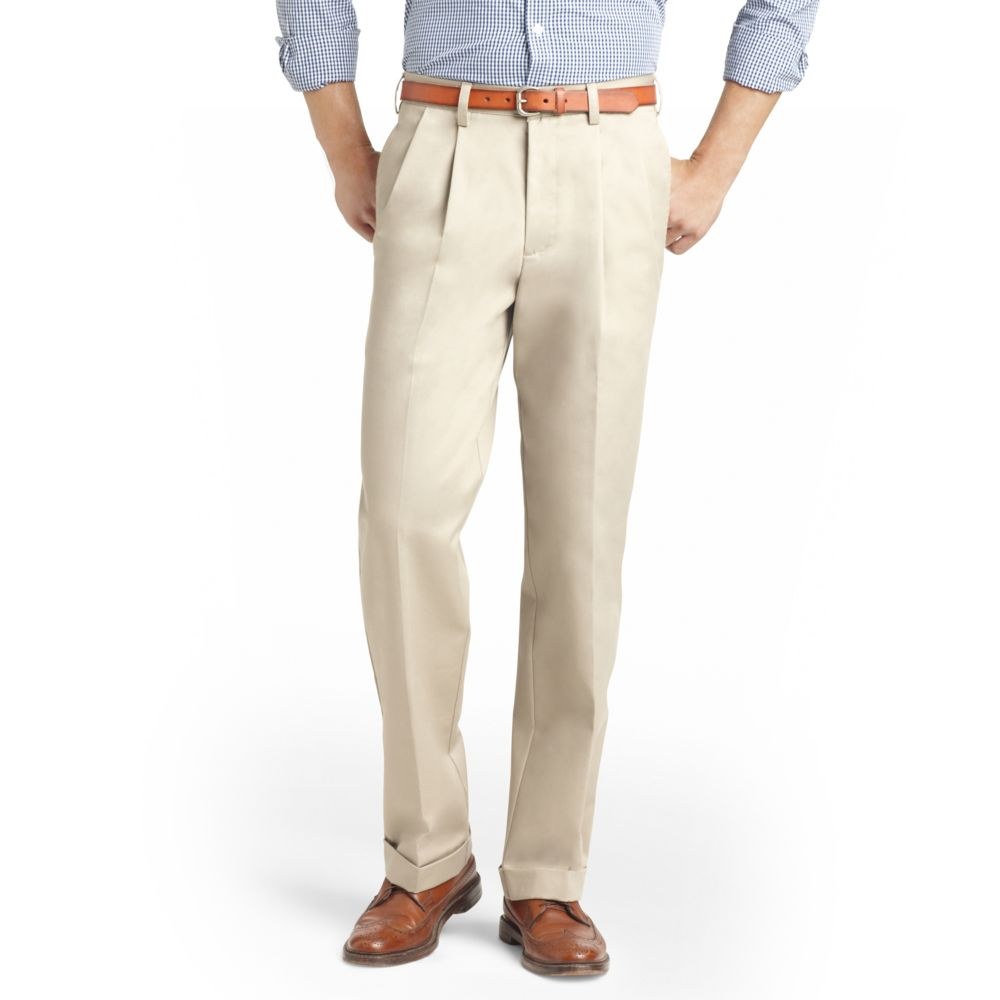 & Tall IZOD Pleated Chino Pants