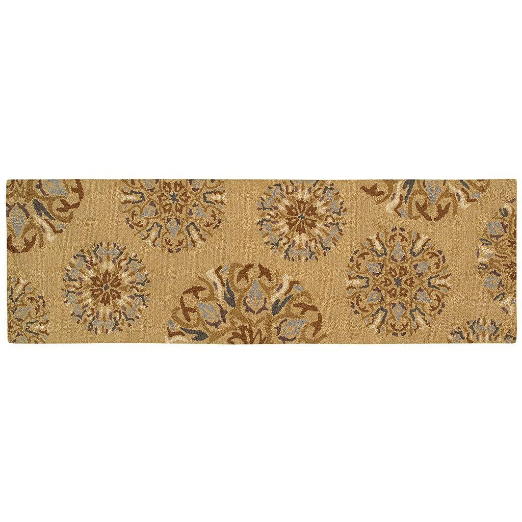 Oriental Weavers Eden Floral Medallion Wool Rug