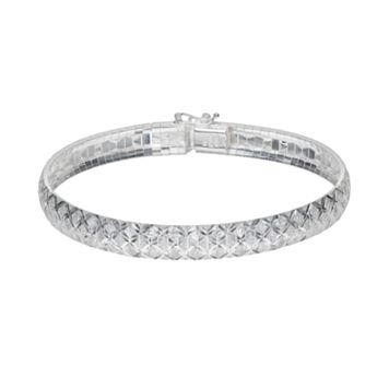 Silver Classics Sterling Silver Bangle Bracelet