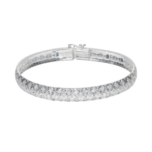 Silver Classics Sterling Silver Bangle Bracelet