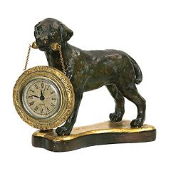 Sterling Labrador Retriever Clock