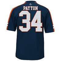 Men's Majestic Chicago Bears Walter Payton Hall of Fame Hashmark Player Top