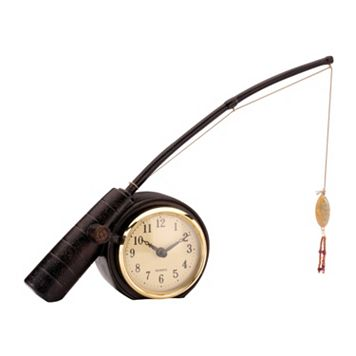 Sterling Rod 'N Reel Fishing Clock