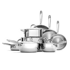 OXO Pro Tri-Ply Clad Stainless Steel 13 pc Cookware Set